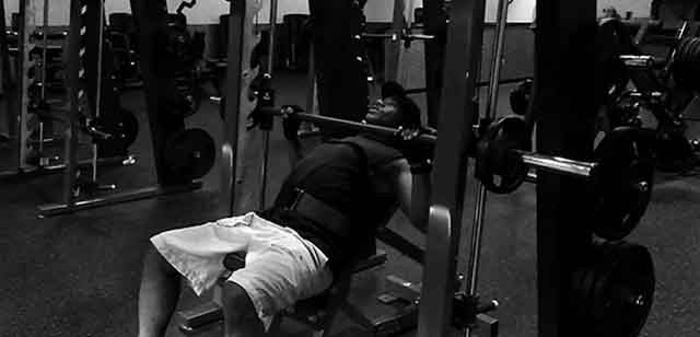 Smith incline bench 2