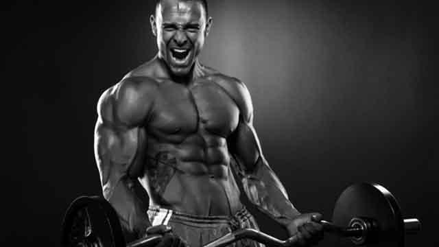 トレーニングで健康的な肉体