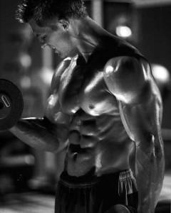 バルクアップした筋肉
