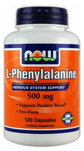PHENYLALANINEのサプリ
