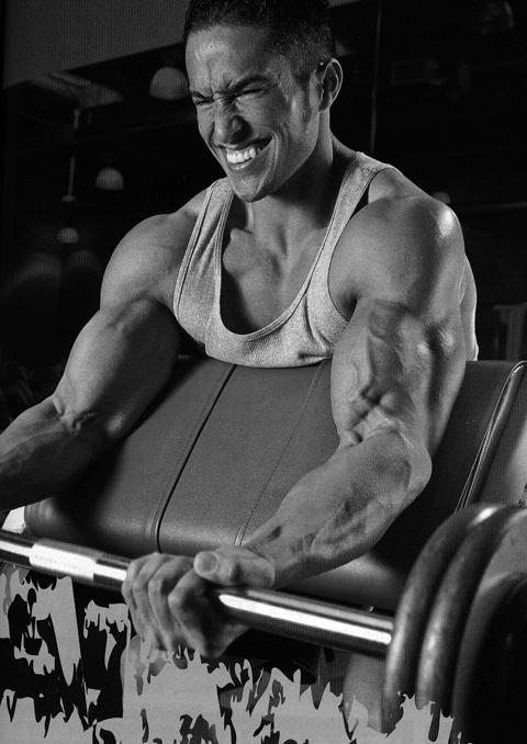 トレーニングの後の筋肉痛