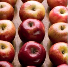 ペクチンを含むりんご
