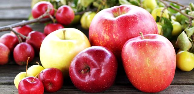 ペクチンが豊富なりんご