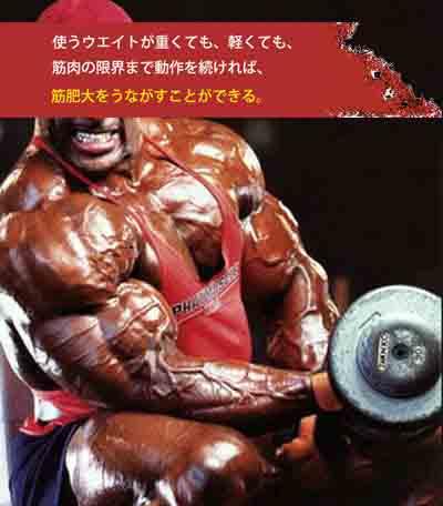 高重量のトレーニング