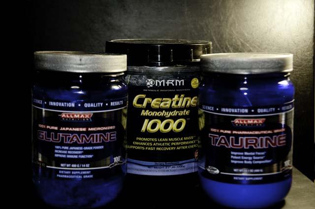 クレクレアチンにグルタミンのサプリ