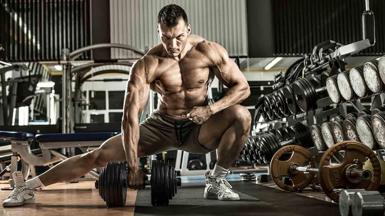 背中のトレーニングの重量設定のイメージ写真