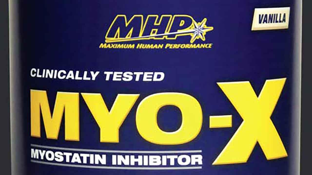 ミオスタチン抑制サプリのMYO-X
