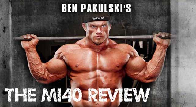ベン・パクルスキーのMI40