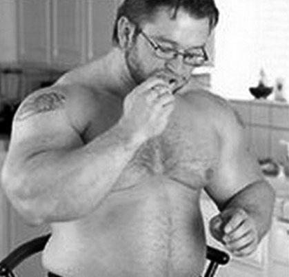 オフ期に太り過ぎ