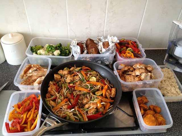 栄養のある食事