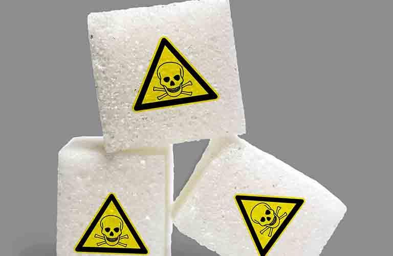 ダイエットの敵の糖質のイメージ