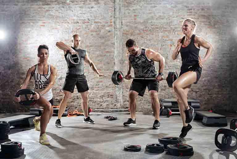 筋力アップのトレーニングのイメージ