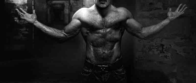 ウエイトトレーニングによって作られた老後の素晴らしい身体