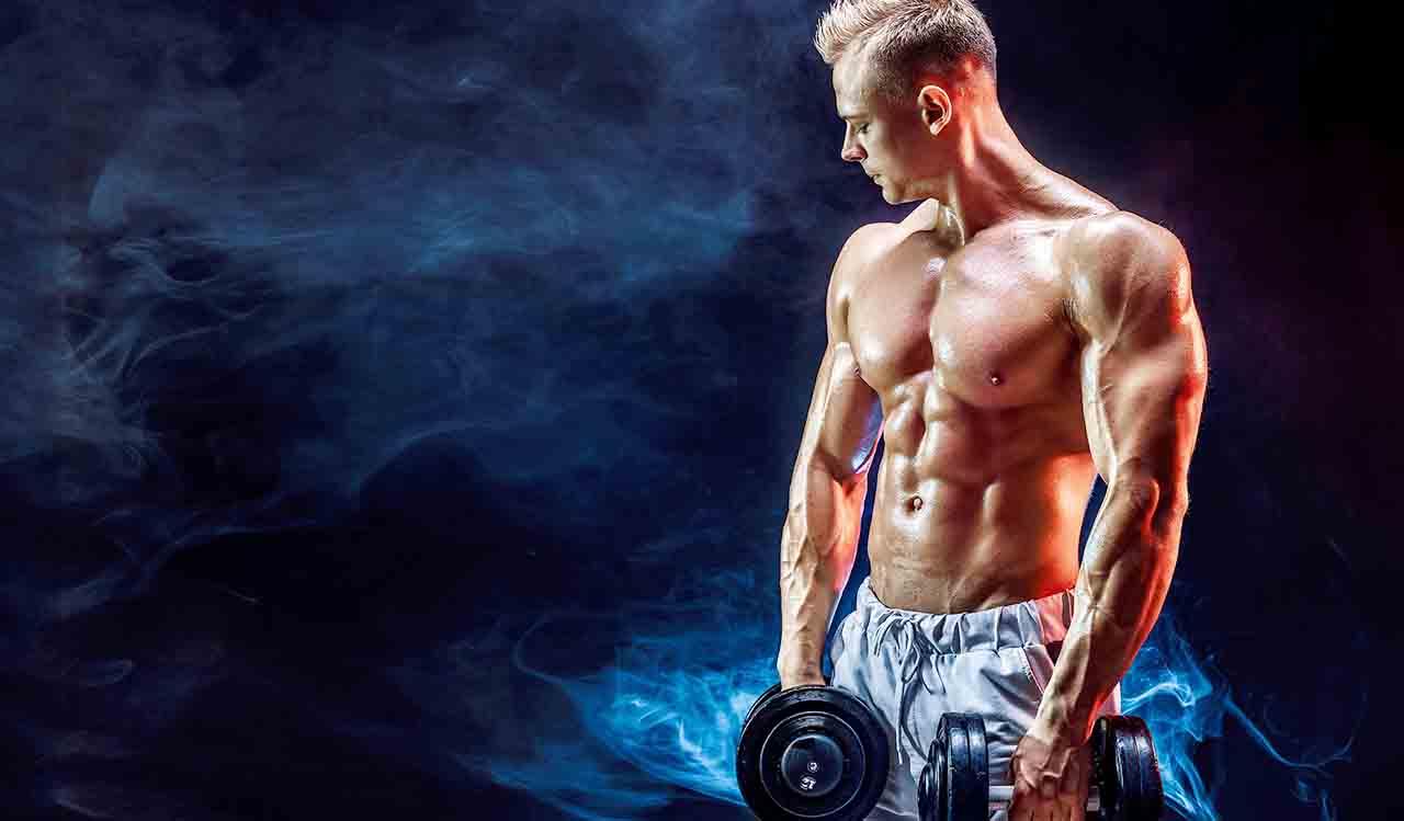 ウエイトトレーニングで筋肥大を促す